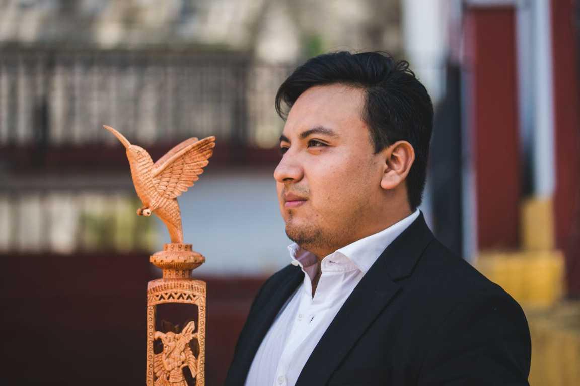 Gana Ronaldo Elía Águila el Premio Estatal de Juventud 2021