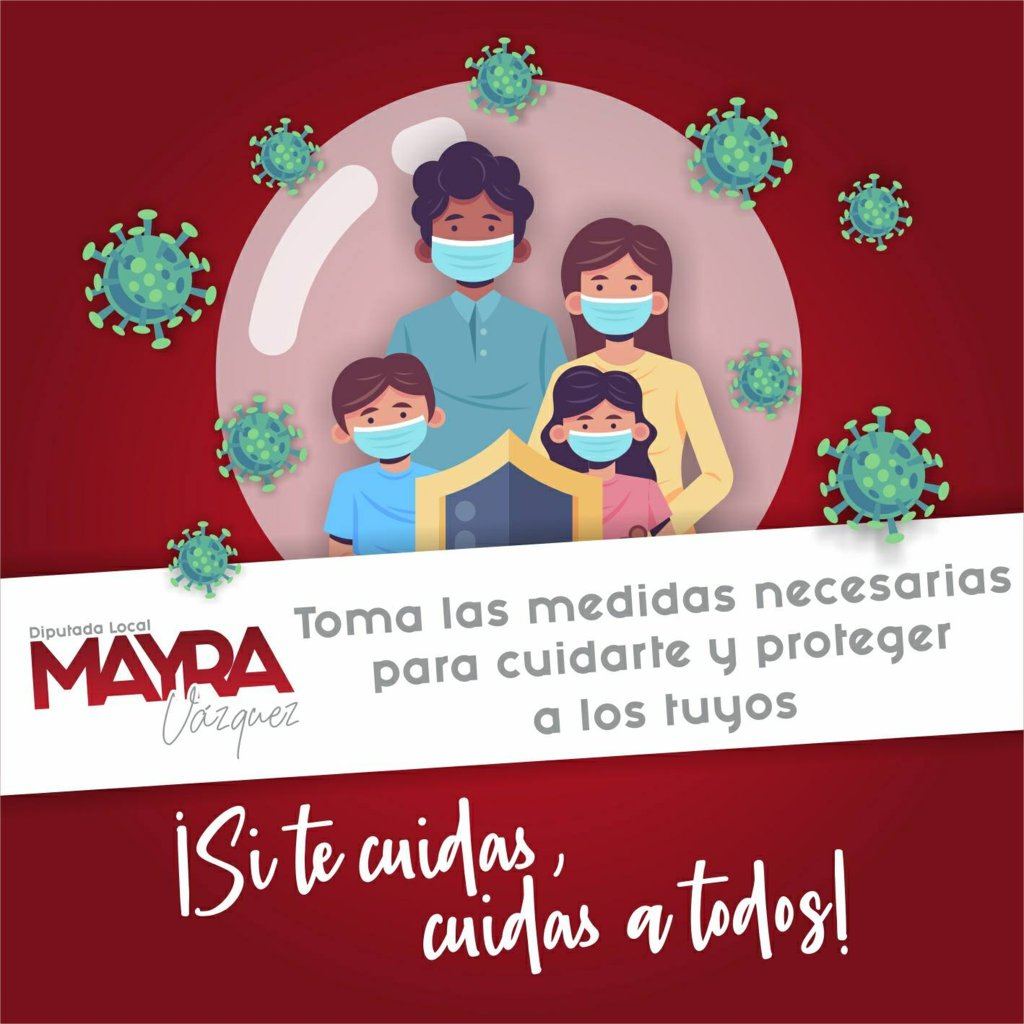 Mayra Vázquez lanza exhorto para no relajar las medidas contra el Covid – 19