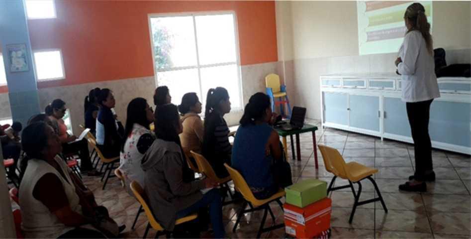 SMDIF lleva acciones nutrición en San Pablo Del Monte