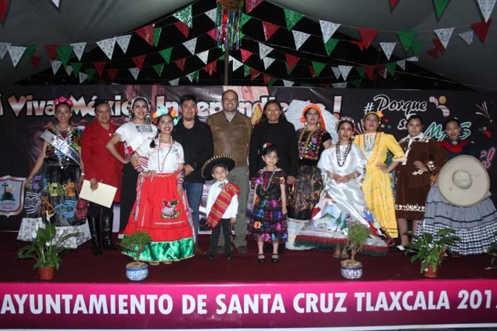 Alcalde encabezo festejos del CCVIII del inicio de la Independencia de México