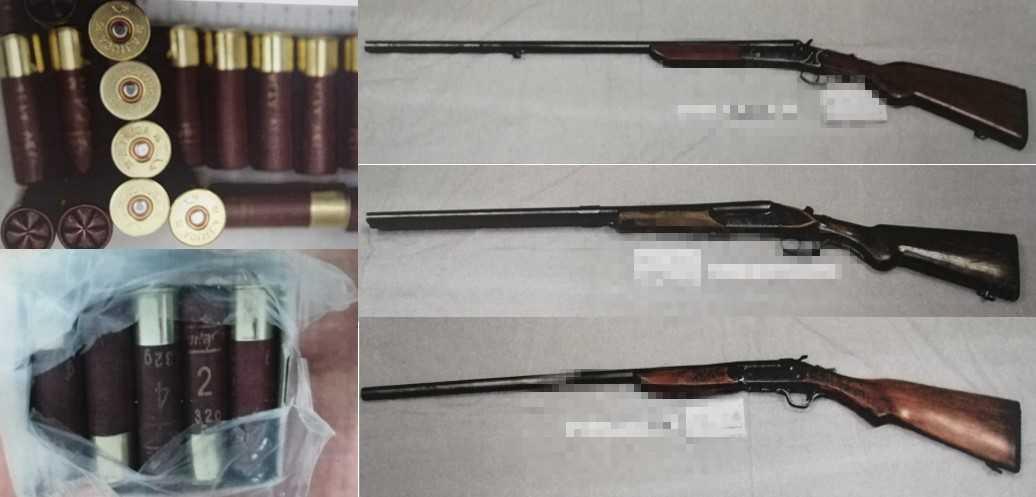 Obtiene FGR vinculación a proceso contra tres personas por portación de arma de fuego