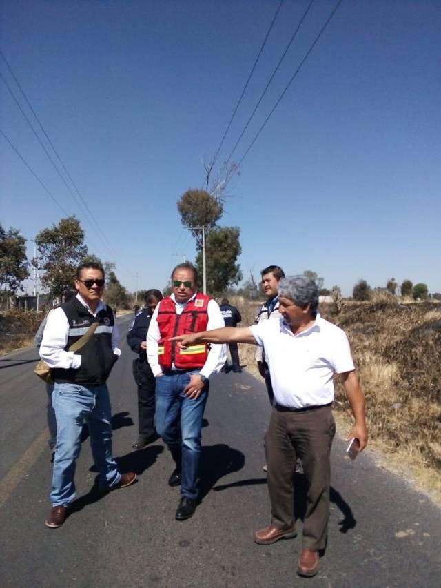 Falsa alarma supuesta explosión, fue incendio de pastizal: Protección Civil
