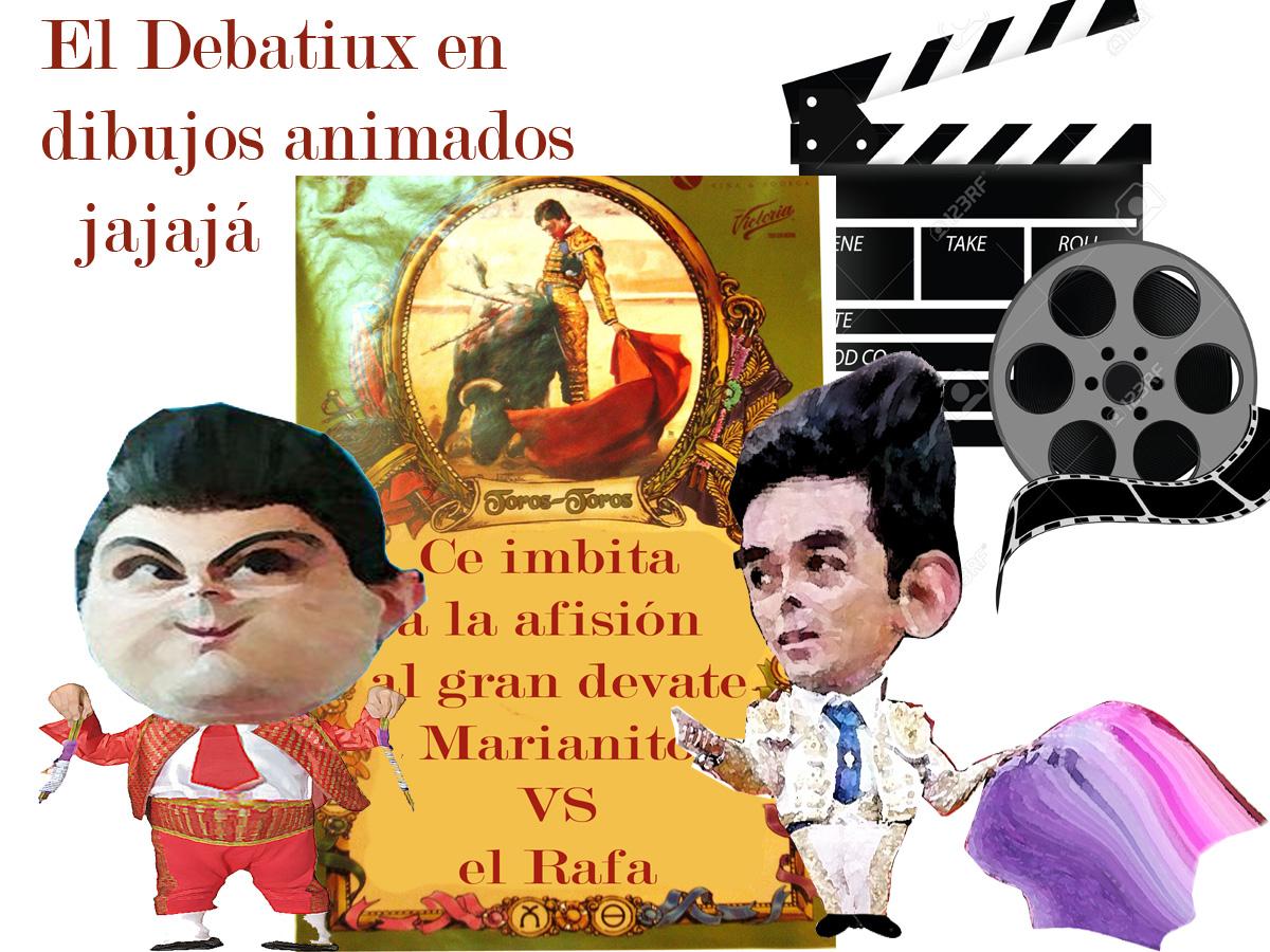 ¡Toros, toros y debates en Tlaxcala! Marianito VS Rafita...