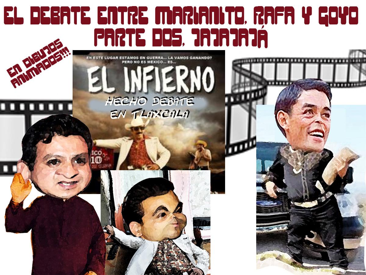 ¡Sensacional, el infierno hecho Debate en Apizaco, Tlaxcala!
