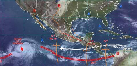 Pronóstico del tiempo en México para martes 2 de julio del 2019