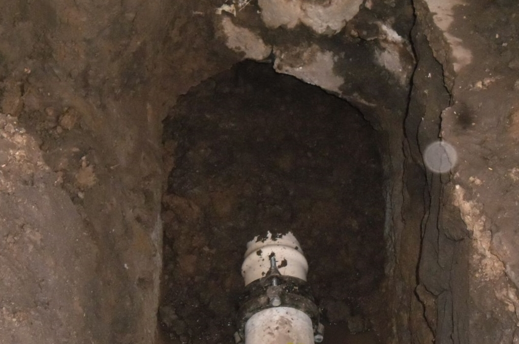 Repara CAPAM Calpulalpan fractura en red de agua potable de su Pozo Principal