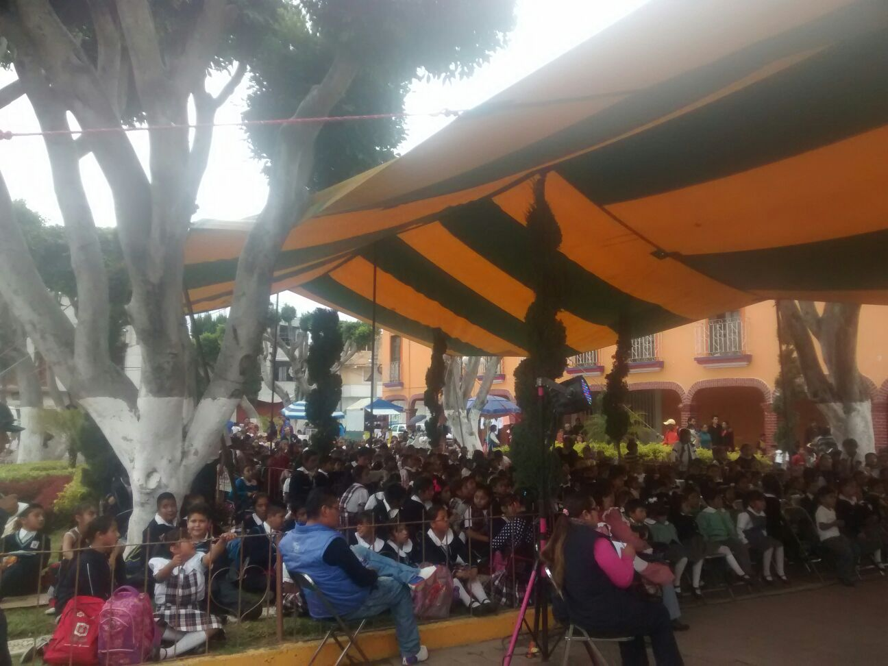 Titiriteros de Monterrey se despidieron con éxito en Tetlatlahuca