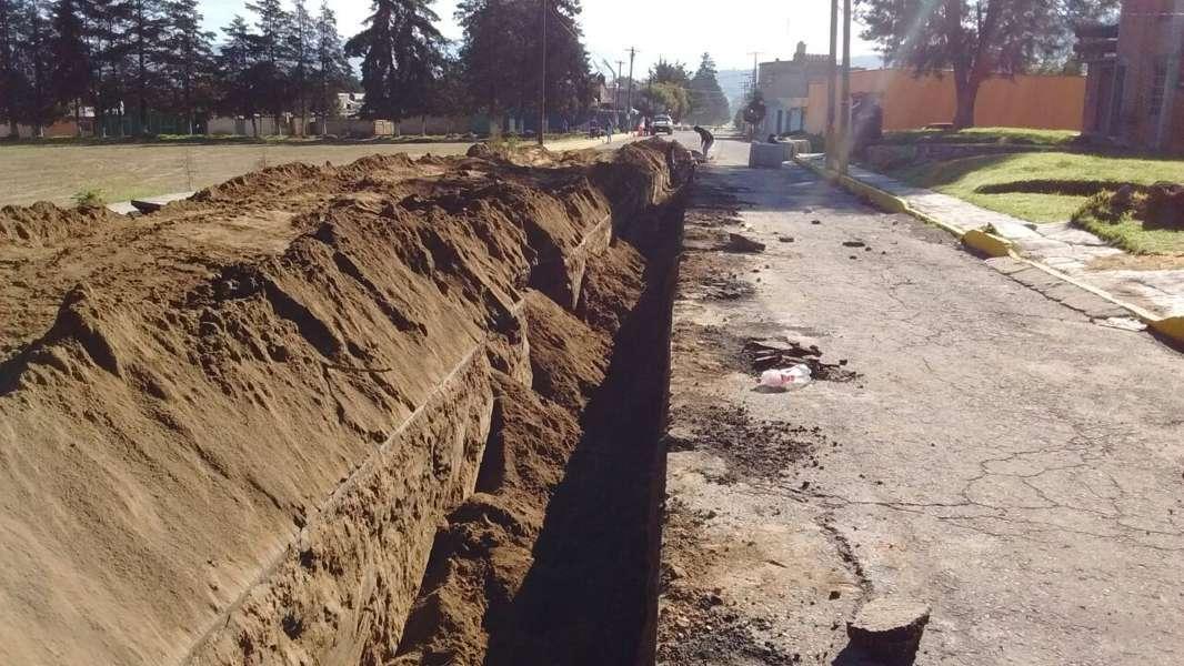 Tocatlán cuenta con obras que cambian la vida de los pobladores