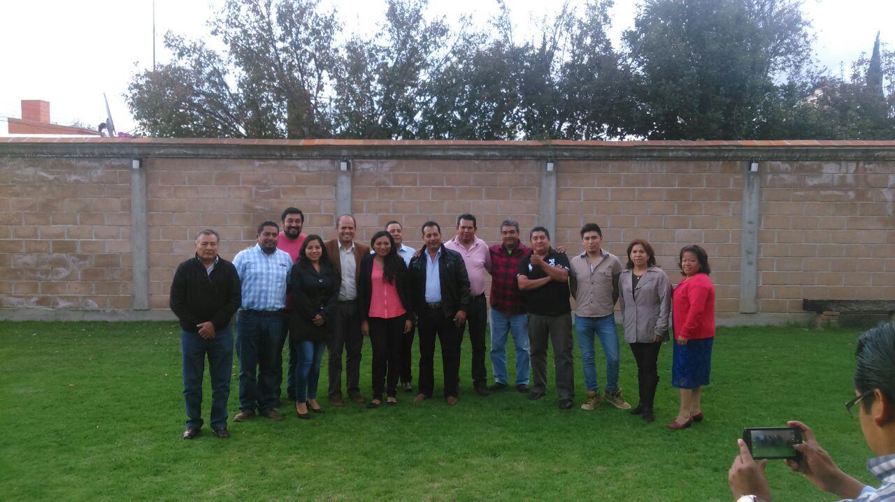 Se reúne nuevo cabildo de Santa Cruz Tlaxcala
