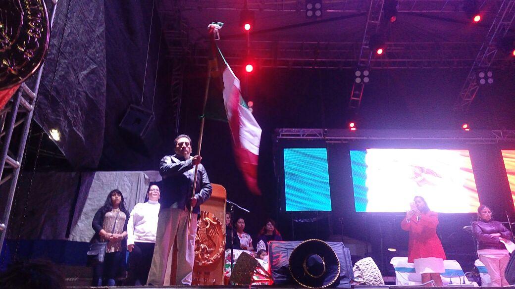 Zarate Morales recuerda a héroes que dieron patria y libertad