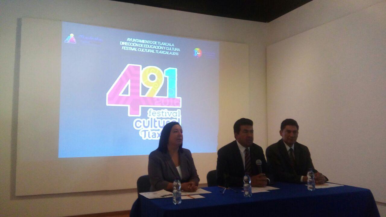 Destina ayuntamiento 2 mdp para Festival Cultural de Tlaxcala