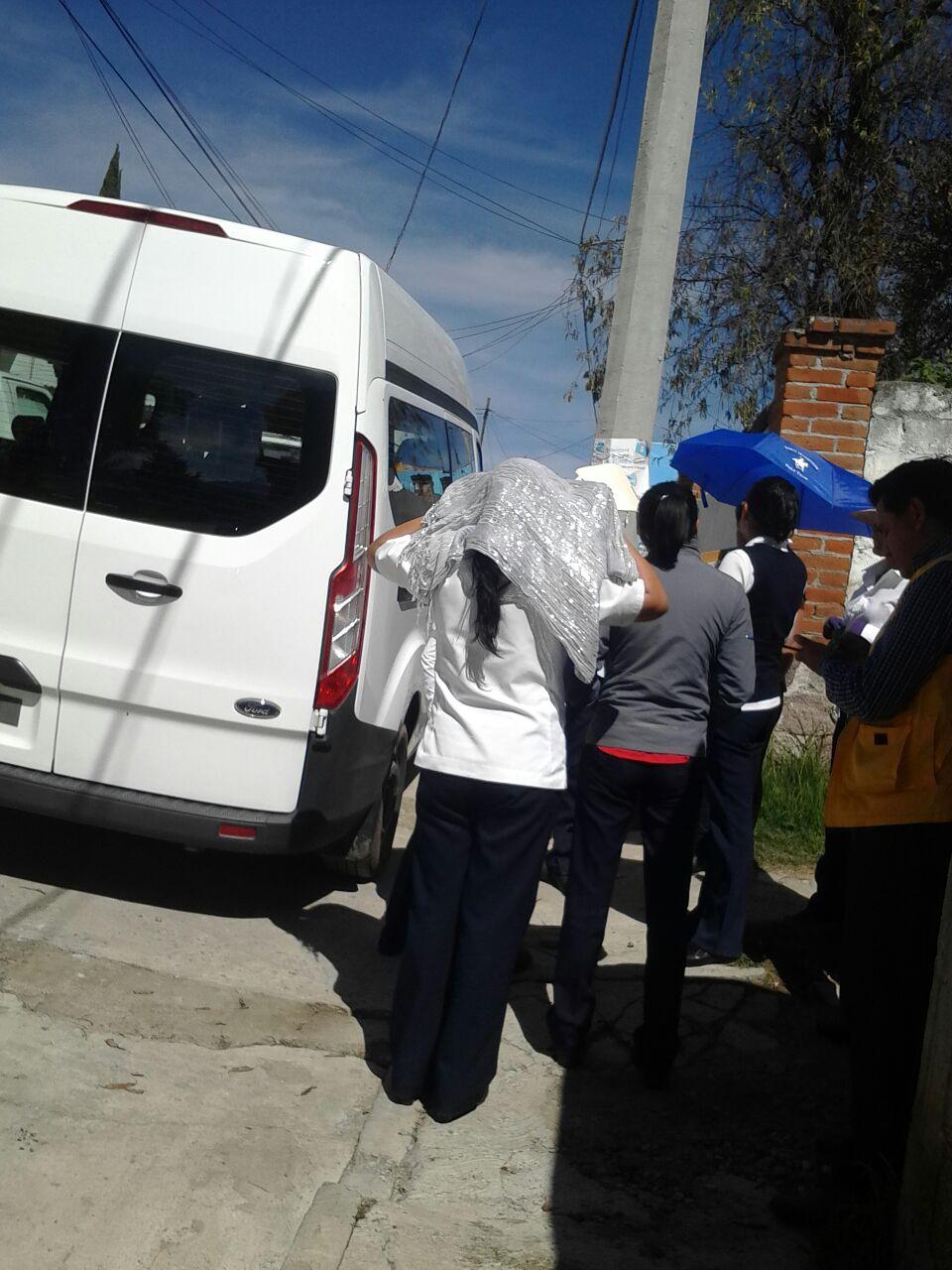 Llega brigada de Sesa y Coepris a Santa Cruz Tlaxcala