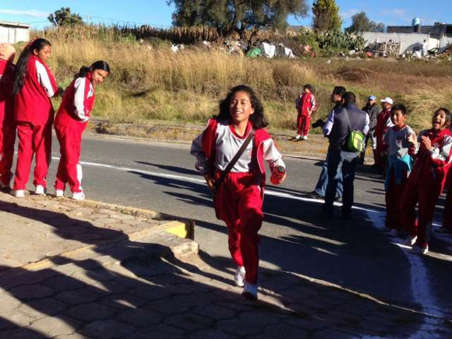 Se suma Secundaria Técnica # 30 a festejos en Calpulalpan