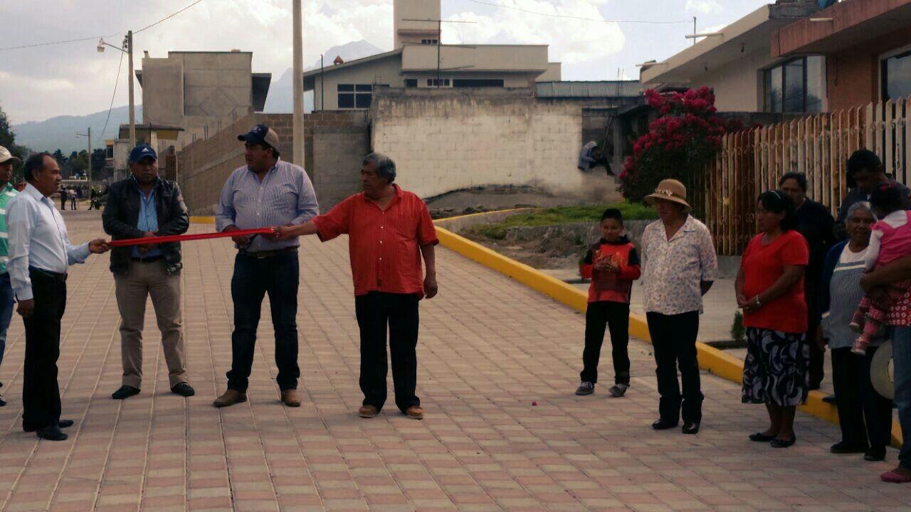 Alcalde cierra su gestión administrativa entregando obras de calidad