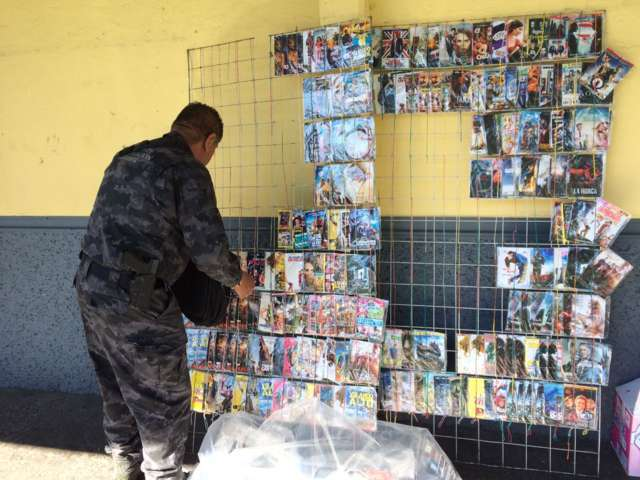 Durante operativo decomisan nueve mil piezas pirata en Calpulalpan