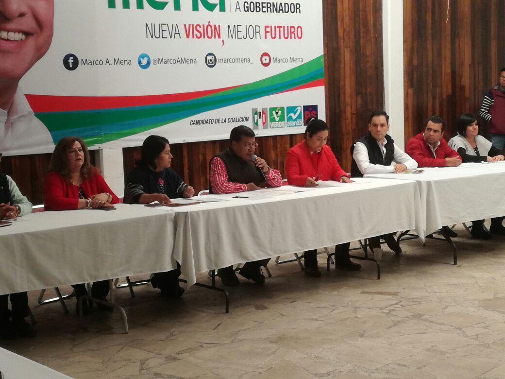 Toma protesta Blanca Águila como presidenta del CDE del PRI en Tlaxcala