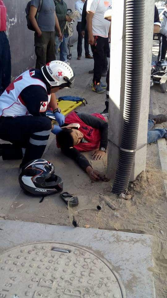 Motociclista atropellado en Huamantla