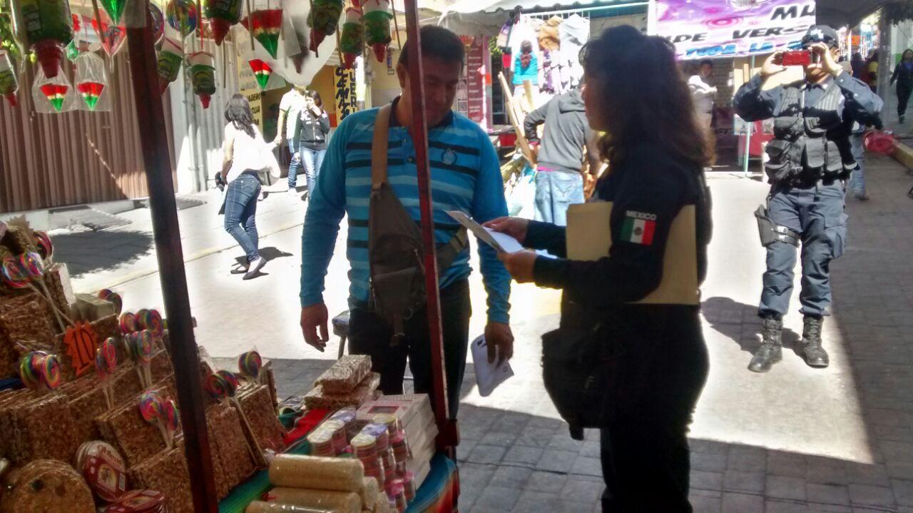 Seguridad municipal y el CES realizan acciones preventivas y de cultura vial