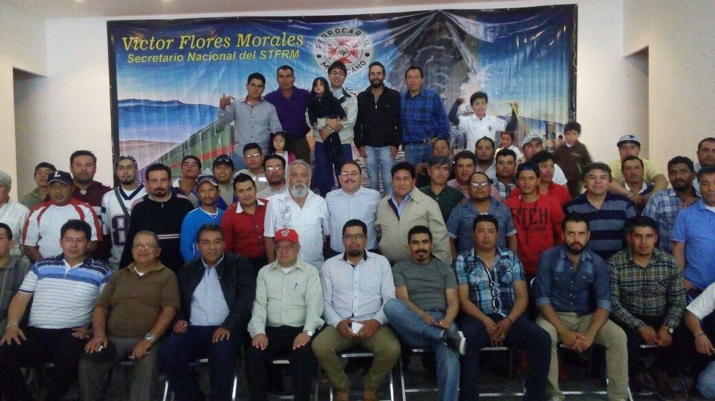 Agremiados del STFRM festejaron aniversario LXXXIV de  fundación