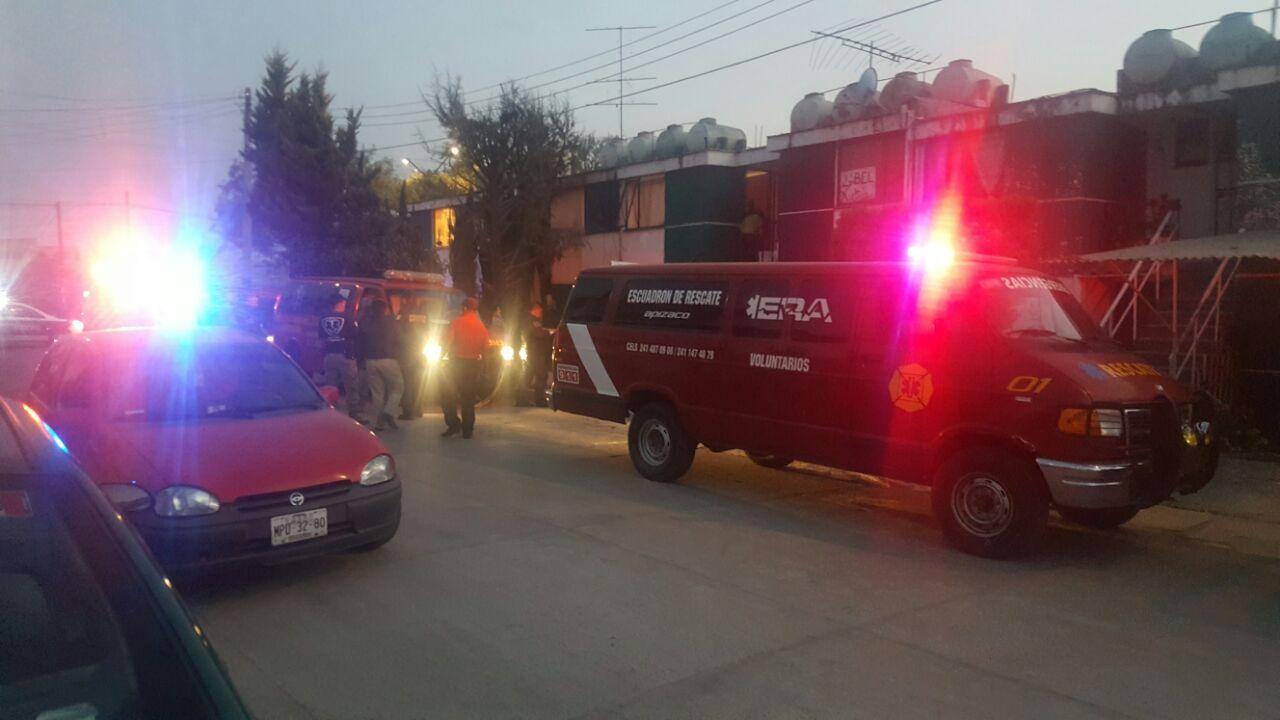 Protección Civil Apizaco sofoca conato de incendio en un domicilio