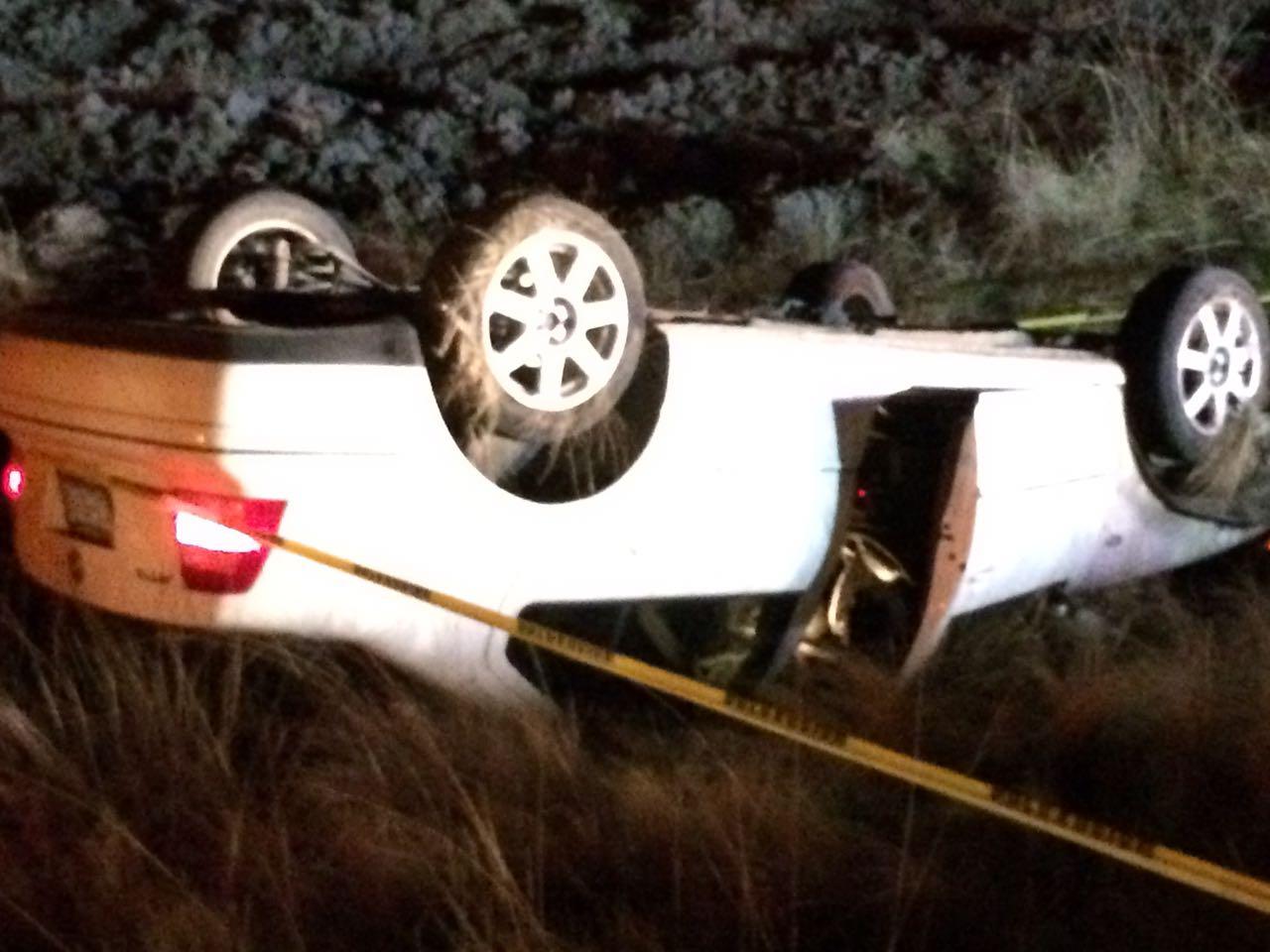 Un muerto y 7 lesionados, deja accidente en la carretera Apizaco-Tlaxco