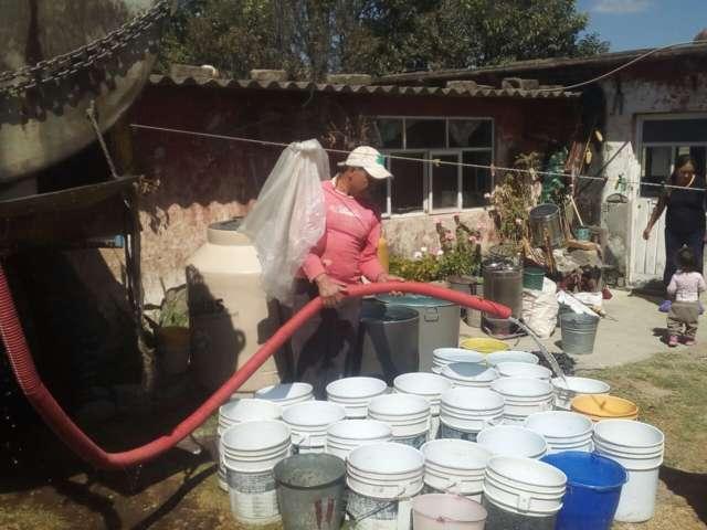 Actividades de saneamiento y rehabilitación en Texóloc