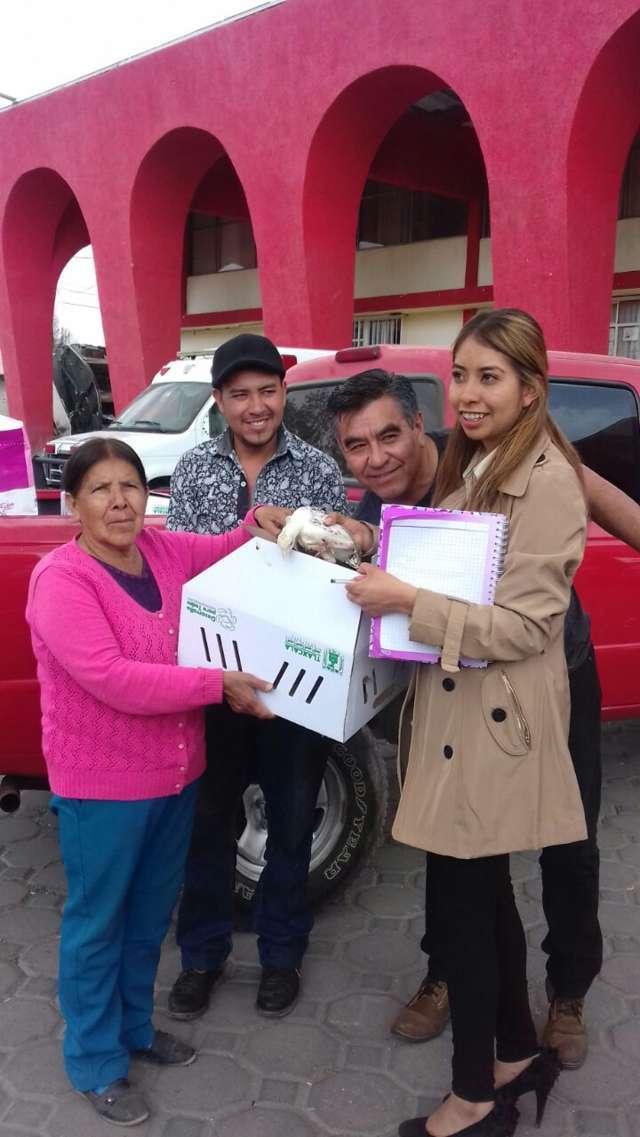 Alcalde de Quilehtla trabaja para fortalecer la economía familiar