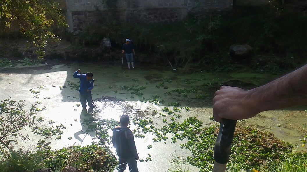 Descuidada, sucia y sin mantenimiento se encontraba la presa: alcalde