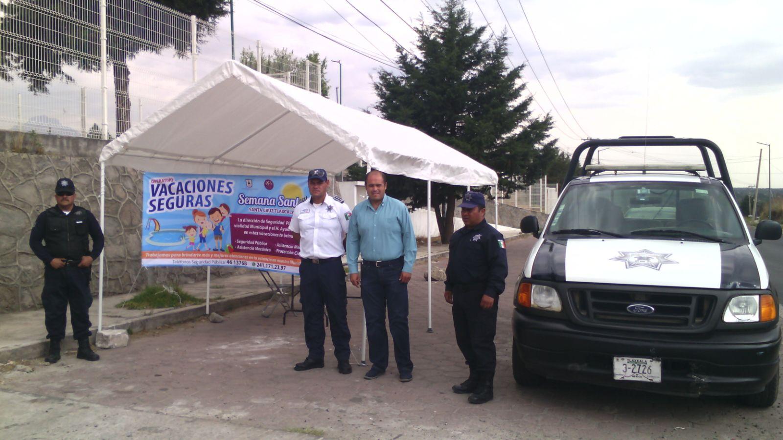Sanabria Chávez supervisó operativo vacacional de Semana Santa