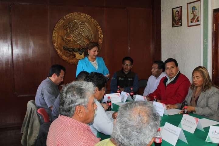 Ayuntamiento realiza su 1ra sesión de desarrollo rural sustentable