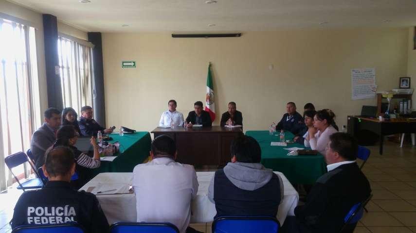 Huactzinco cuenta con Consejo Municipal de Seguridad Pública