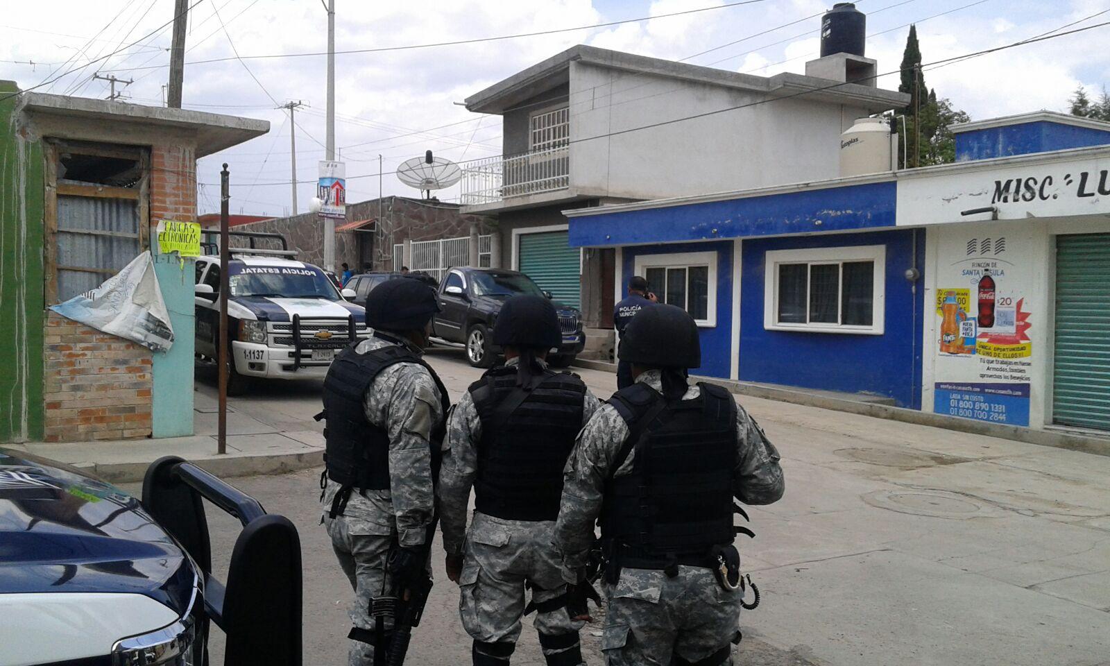 Presunto secuestro genera mega movilización policiaca