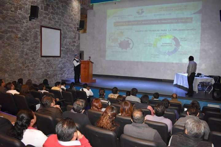 Se incorpora Zacatelco a la Agenda de Desarrollo Municipal