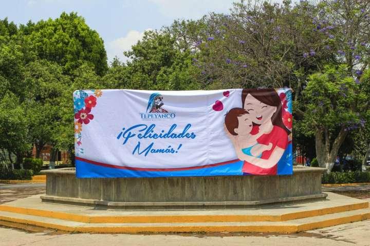 Preparan festejo con motivo del Día de las Madres en Tepeyanco