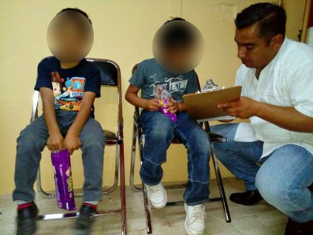 Localizan en Tepeyanco a dos menores reportados como desaparecidos