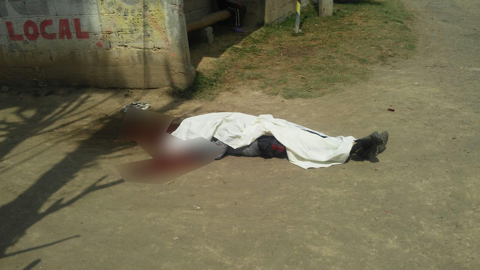 Campesino muere de escopetazo al defender a su amigo en Nativitas