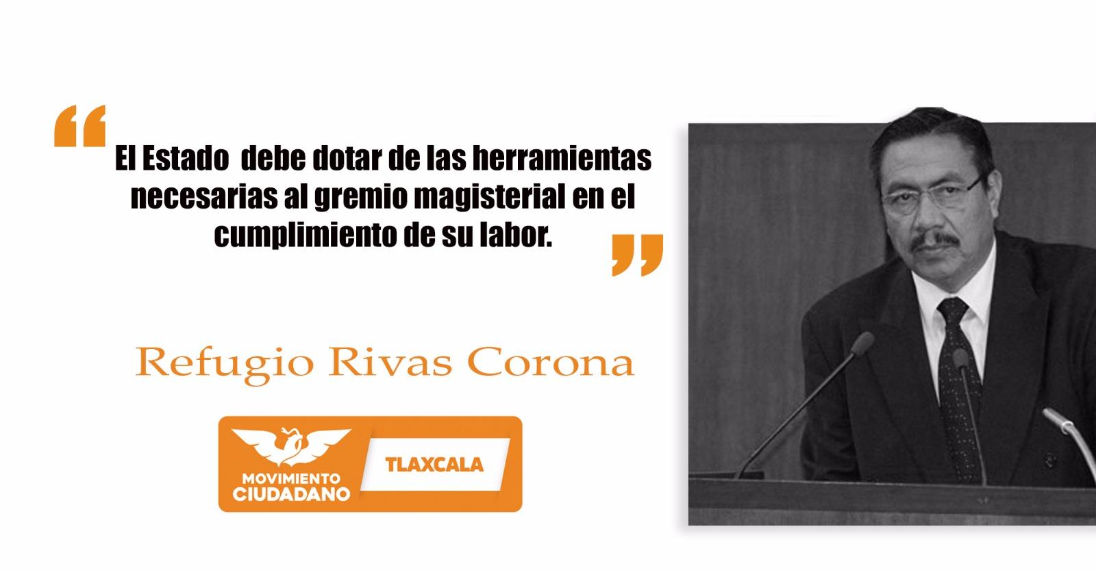 Los maestr@s de Tlaxcala necesitan mejores herramientas para cumplir su labor: Refugio Rivas