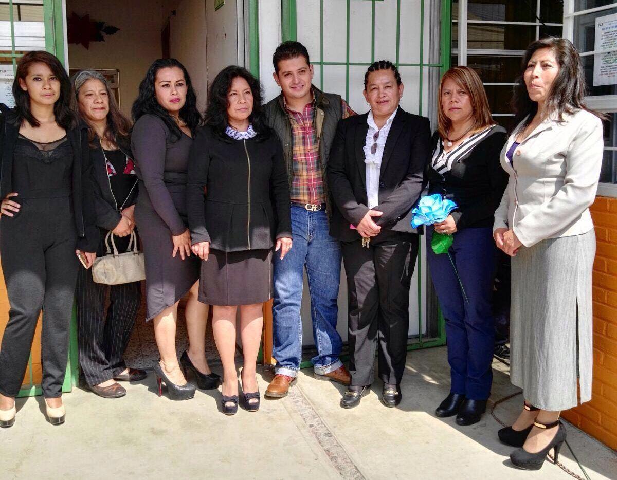 Reconocen madres de familia a Juan Berruecos como un político empático y maduro