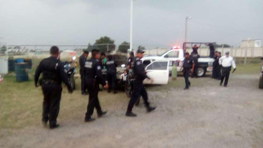 Policías municipales de Quilehtla frustran asalto a gasera