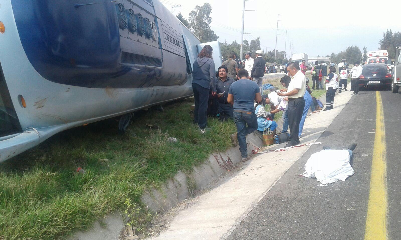 Mortal accidente carretero reporta saldo funesto