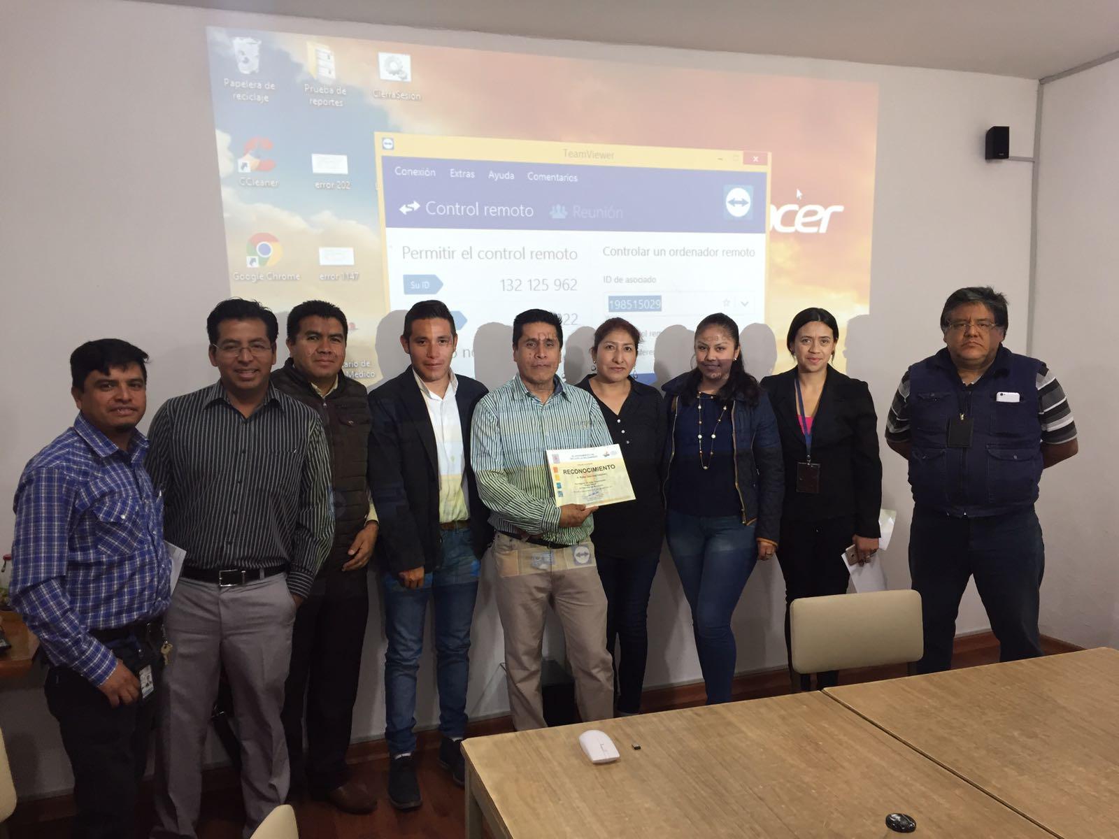 Ayto. de Tetla imparte cursos en áreas de atención ciudadana