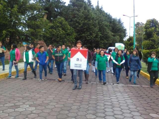 Ayuntamiento celebro el Día Mundial Sin Tabaco con una marcha