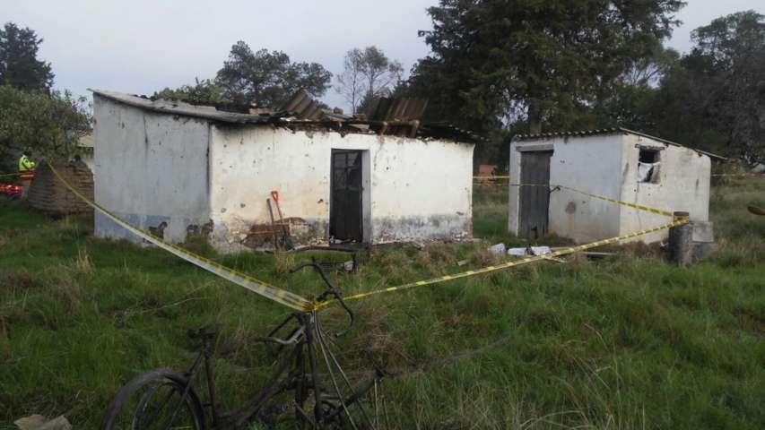 Se registra incendio en domicilio de la comunidad de Atexcatzinco