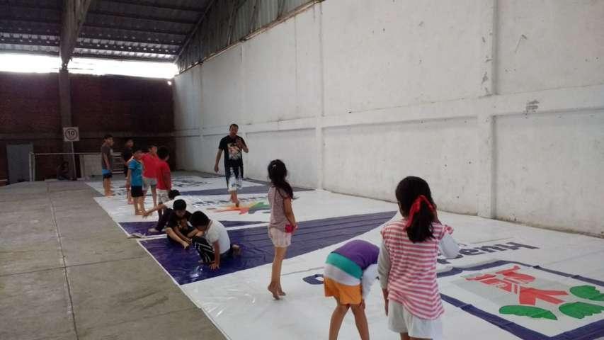 Alcalde fomenta la activación física entre niños y jóvenes del municipio