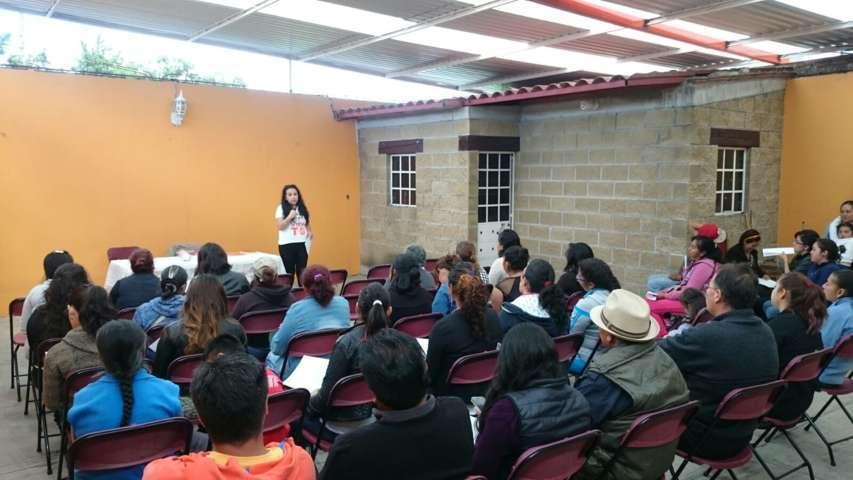 Seguimos sumando voluntades y ciudadanos libres de San Lucas Tecopilco: MC