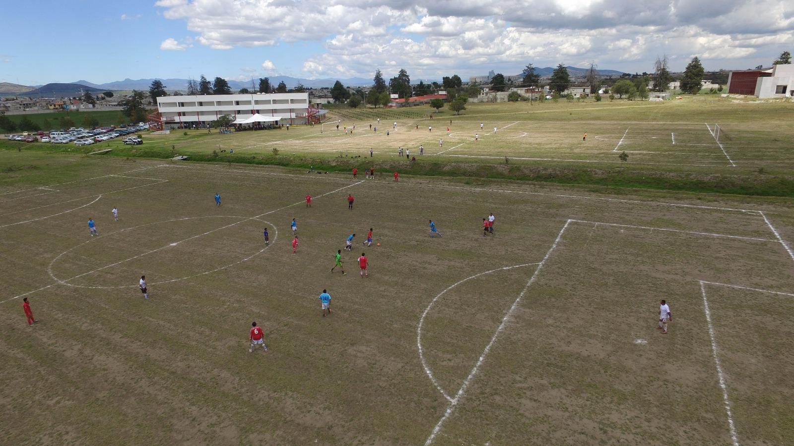 Habilita UAT  espacios deportivos en campus Calpulalpan