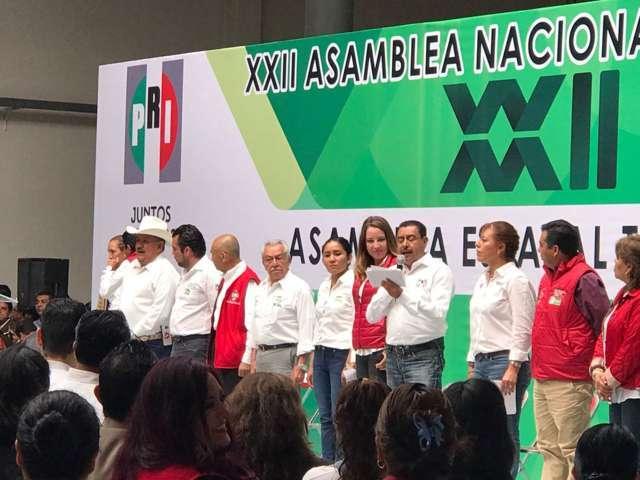 Imponen a delegados nacionales; irán a asamblea nacional del PRI