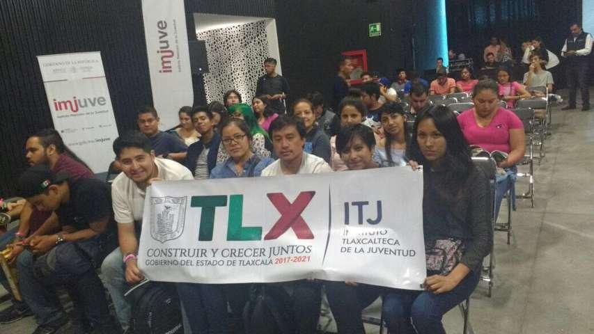 Participan jóvenes tlaxcaltecas en Expo de Tecnología en Guadalajara
