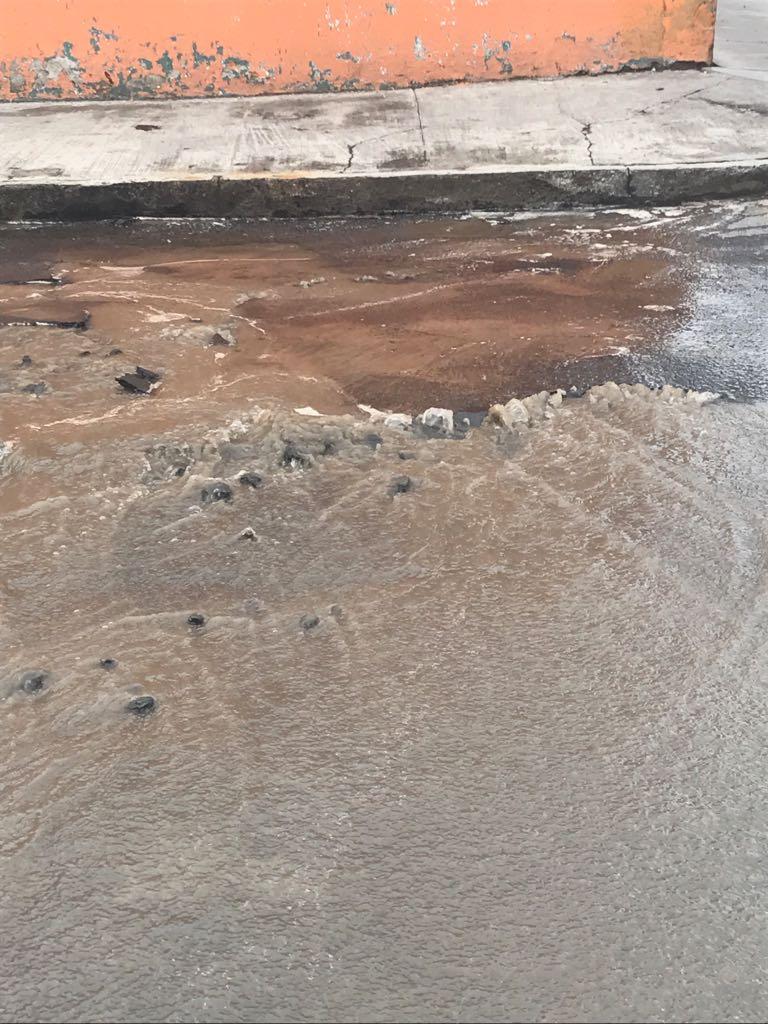 Atiende Capamh fugas de agua en la ciudad de los mueganos