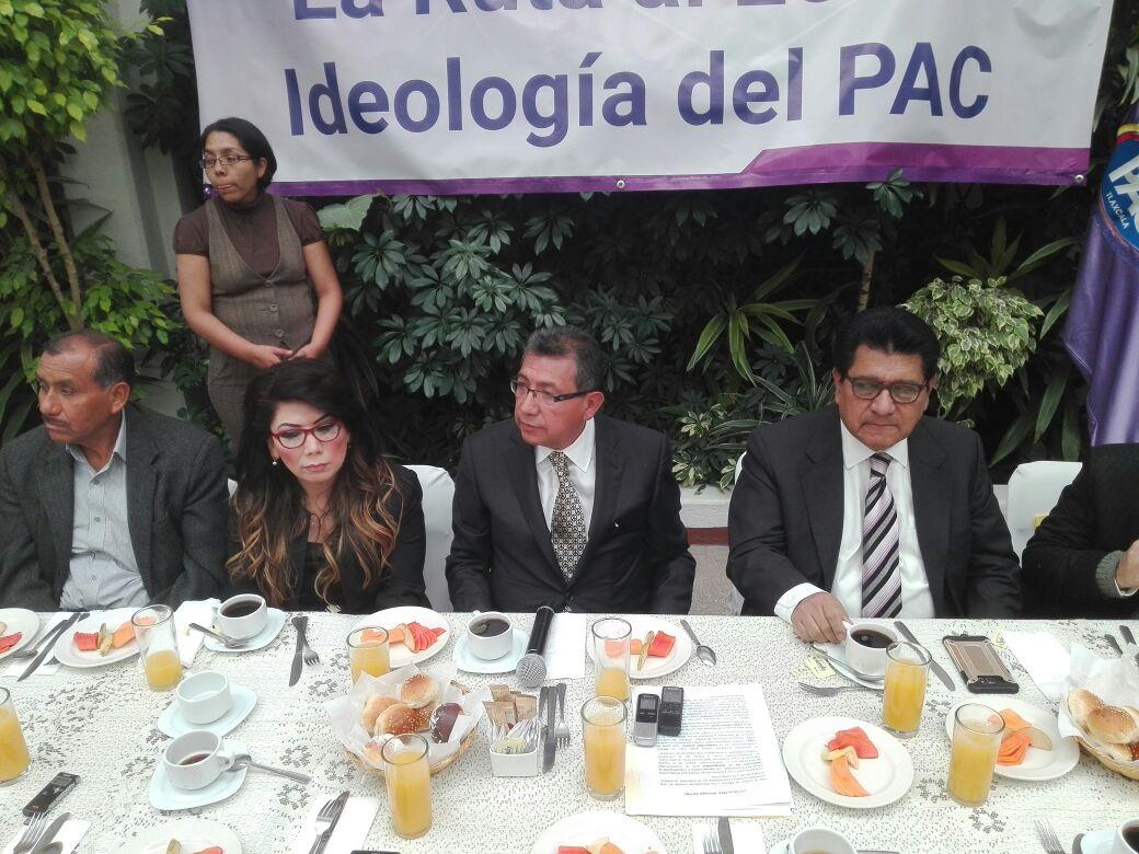 Propone el PAC una alianza electoral con